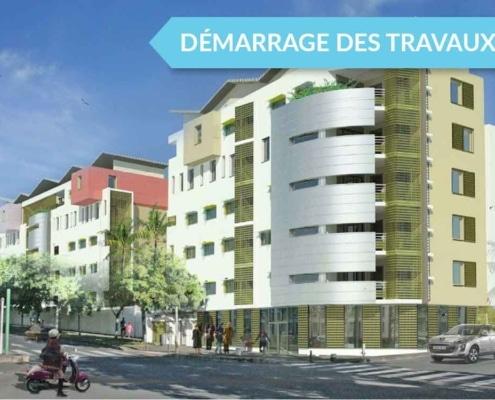 Programme Neuf Défiscalisation - Résidence JARDIN DES LYS à Saint-Denis